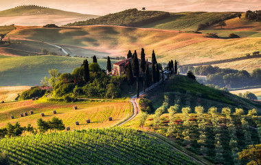 Enchanting Travels Italy Tours Tuscany, panoramic landscape - Italy
