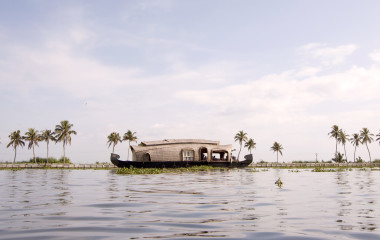 Kerala Backwaters Hausboot, Indien