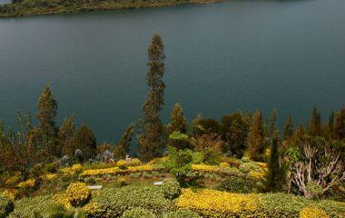 Der malerische Lake Kivu