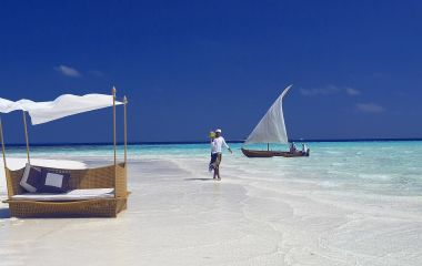 Is Maldives safe? Women walking near the beach in Maldives