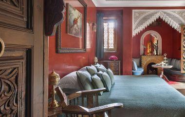 Doppelzimmer im La Sultana Marrakech Hotel in Marrakesch, Marokko