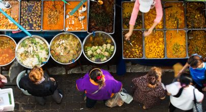 Southeast Asia street food: Thai food in Bangkok