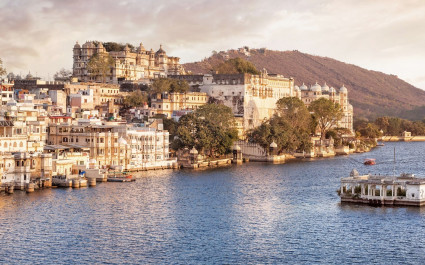 North or South India? Udaipur, is often called the Venice of the East.