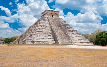 Pyramide des Kukulcán in Chichen Itzá, Mexiko