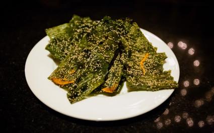 Khai phan: seaweed from the Mekong River
