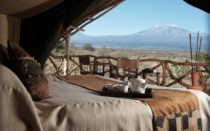 Enchanting Travels - kenya Tours - Amboseli - Satao Elerai - Bedroom