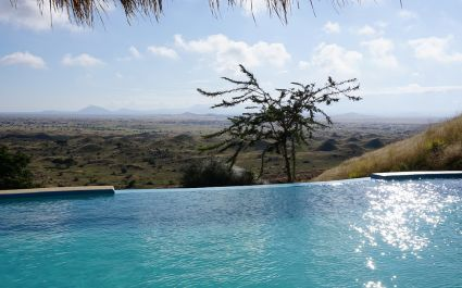 Enchanting Travels Tanzania Tours - West Kilimanjaro Hotels - Amini Masai Lodge - pool