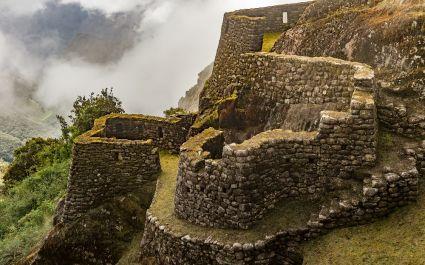 Runturakay - a ruin on the Inca Trail, Machu Picchu