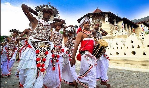 Tagesumzug beim Kandy Perahera 2017