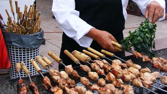 Lokaler Markt in Cusco