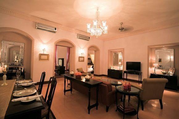 Indien Heritage Hotels: Nadesar Palace, Varanasi, Uttar Pradesh