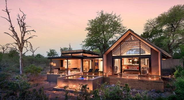 Enchanting Travels South Africa Tours Kruger Hotels Lion Sands Ivory Lodge facade 2