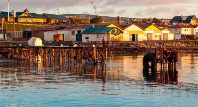 Ab Punta Arenas unternehmen Sie eine Kreuzfahrt in Patagonien