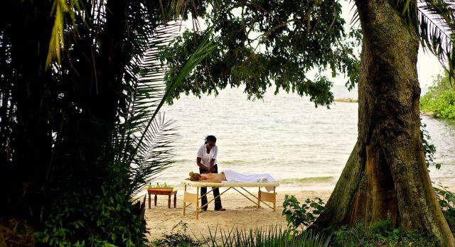 Massage am Strand