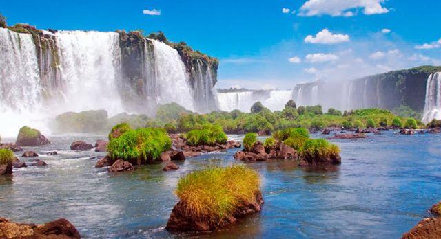 Naturwunder Wasserfälle von Iguazu