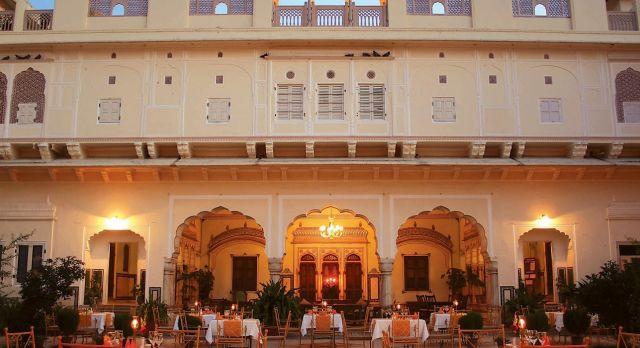 Samode Haveli - North India boutique hotels