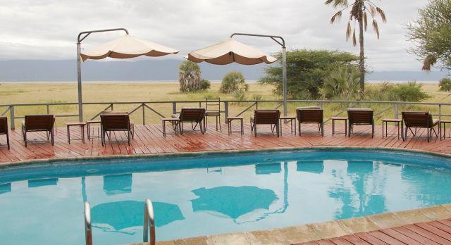 Poolt at Maramboi Tented Camp, Tarangire, Tanzania