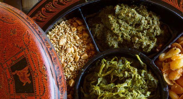 Die Küche Myanmars