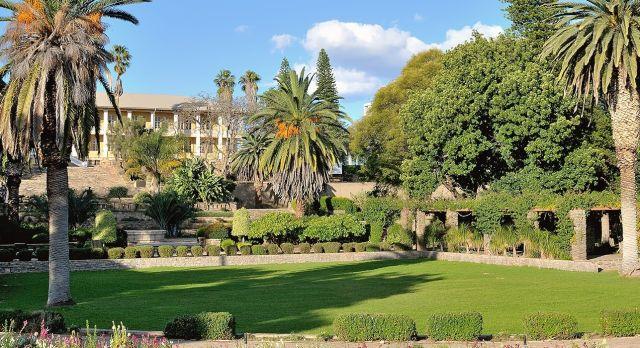 Parlamentsgärten in Windhoek