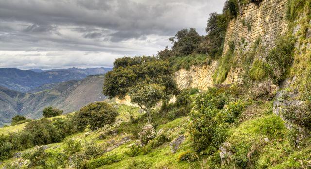 Bergpanorama auf Perureisen