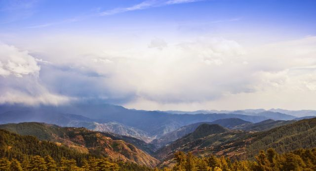 Ausblick von Shimla