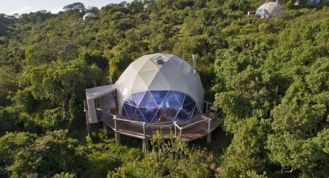 Dome exterior at The Highlands, Lake Manyara & Ngorongoro, Tanzania