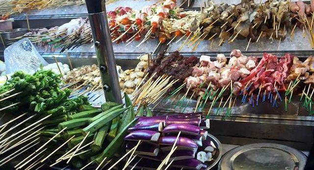 Malaysian street food - Malaysia vacation