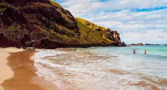 Ovahe Beach in Easter Island
