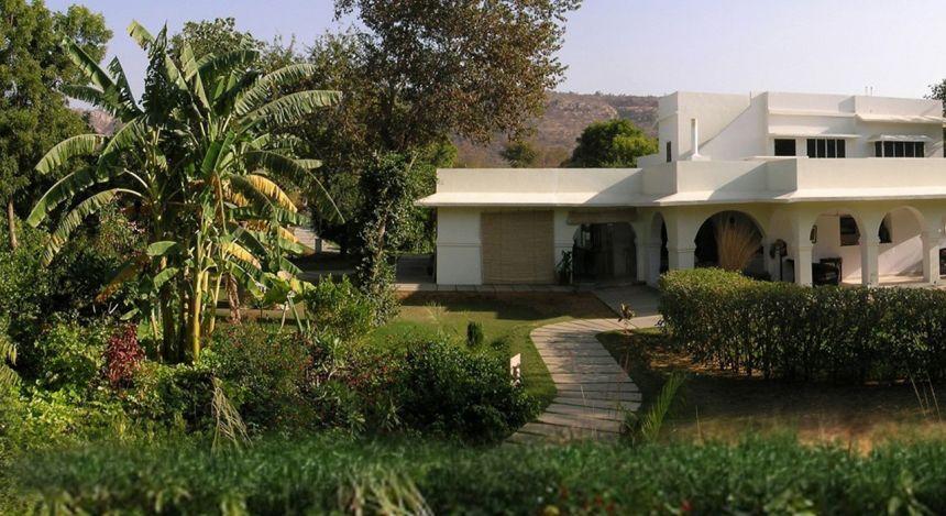Enchanting Travels -Nordindien Reisen -Ranthambore - Khem Villas - Aussicht