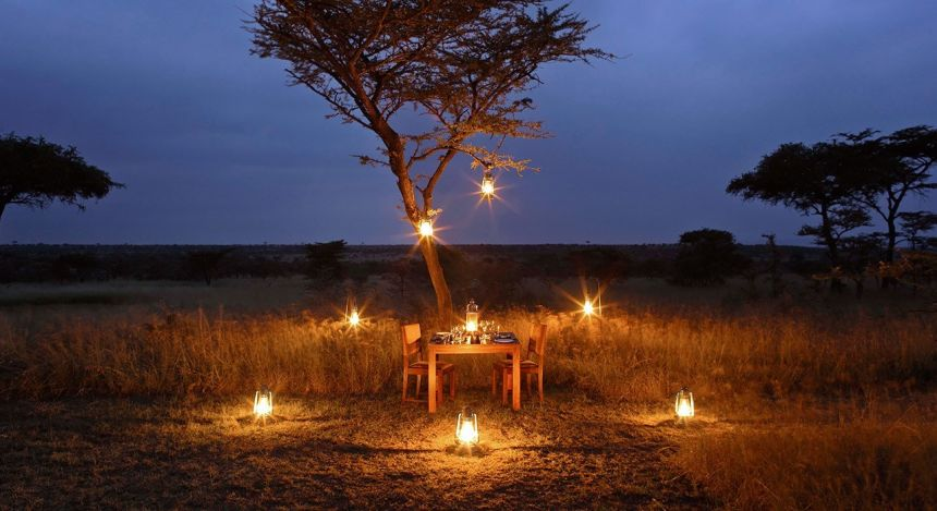 Safari Camp in der Masai Mara Conservancy
