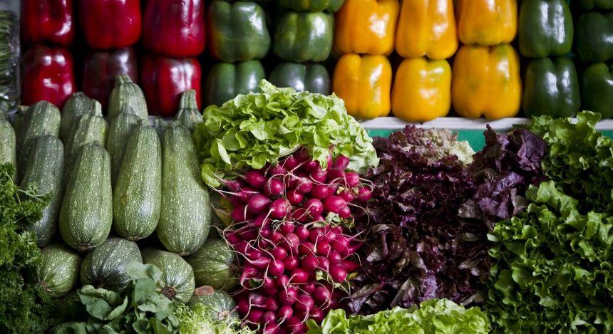 Gemüse in Peru