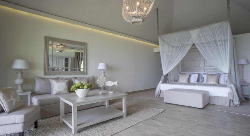 Double room at Zawadi Hotel in Zanzibar, Tanzania