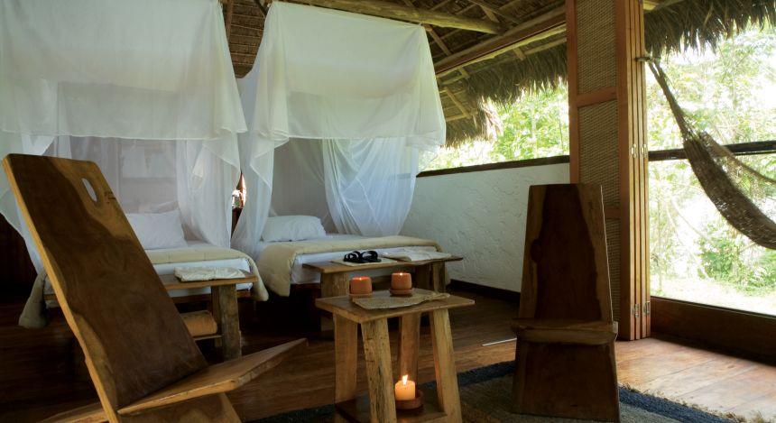 Zimmer des Cabañas Lodge