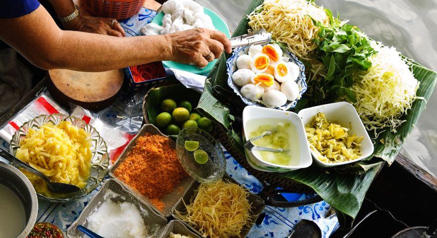 Street Food aus Thailand