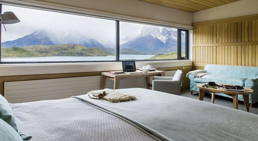 Suite mit Sicht auf Berge