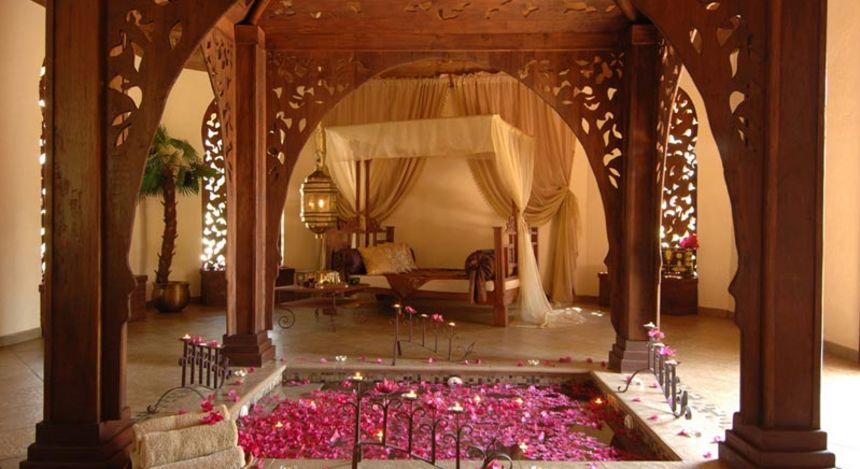 Das Sultan-Bad mit Bett