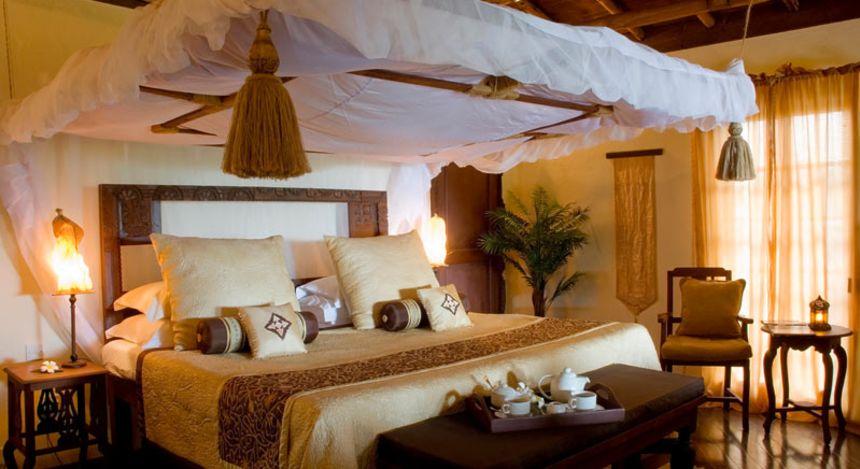 Schlafzimmer im The Palms
