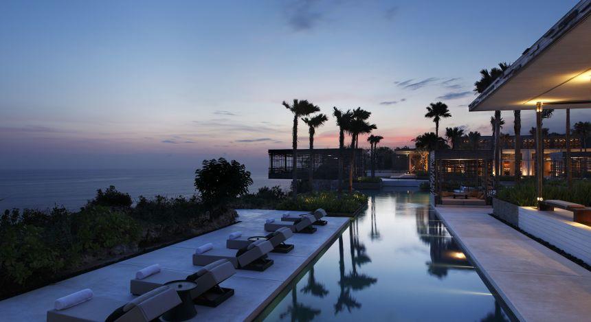 Enchanting Travels Indonesia Tours Uluwatu Hotels Aliva Villa Uluwatu pool