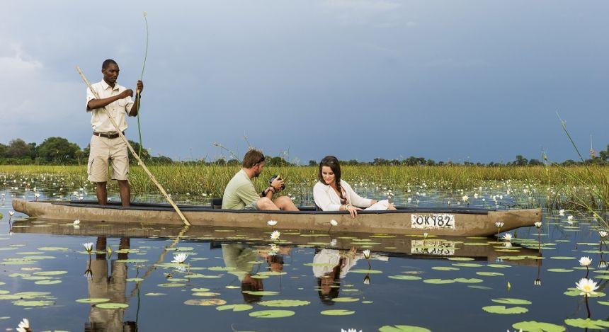 Enchanting Travels-Botswana Tours-Okavango Delta-Vumbura Plains-Boat ride
