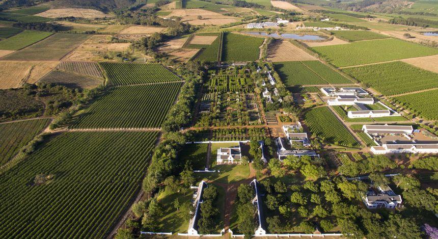 Ein geheimer Garten in Südafrika
