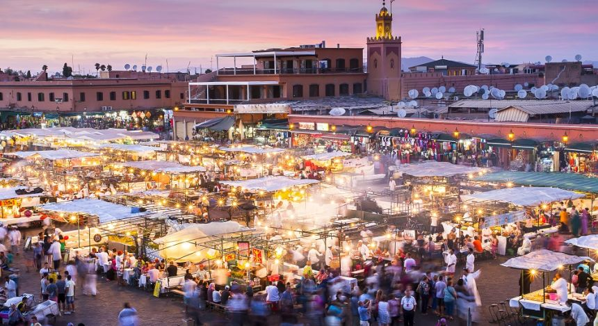 Jamaa el Fna in Marrakech
