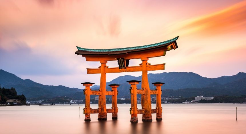 Floating Gate of Itsukushima