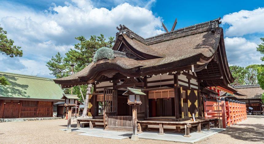 Enchanting Travels Japan Tours Osaka Sumiyoshi taisha shrine in Osaka, Japan