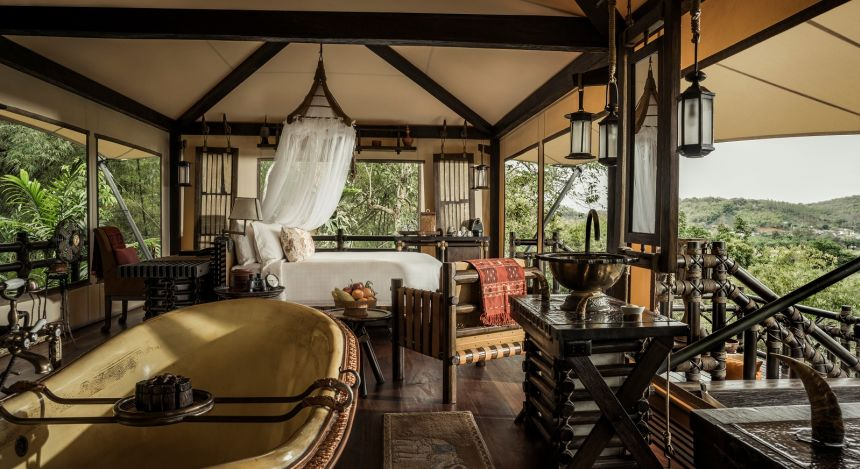 Enchanting Travels Thailand Tours Chiang Mai Four Seasons Tented Camp (3)
