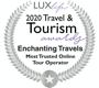 Lux 2020 Travel & Tourism Award