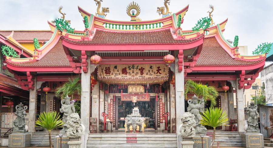 Chinesischer Tempel in der Altstadt von Phuket