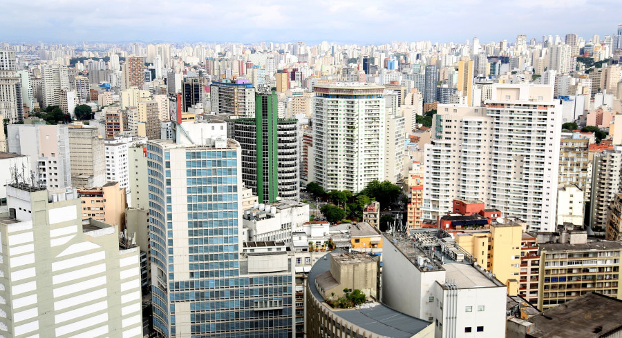 Ausblick auf Sao Paulo
