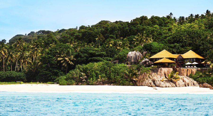 Strand von Fregate Island, Seychellen