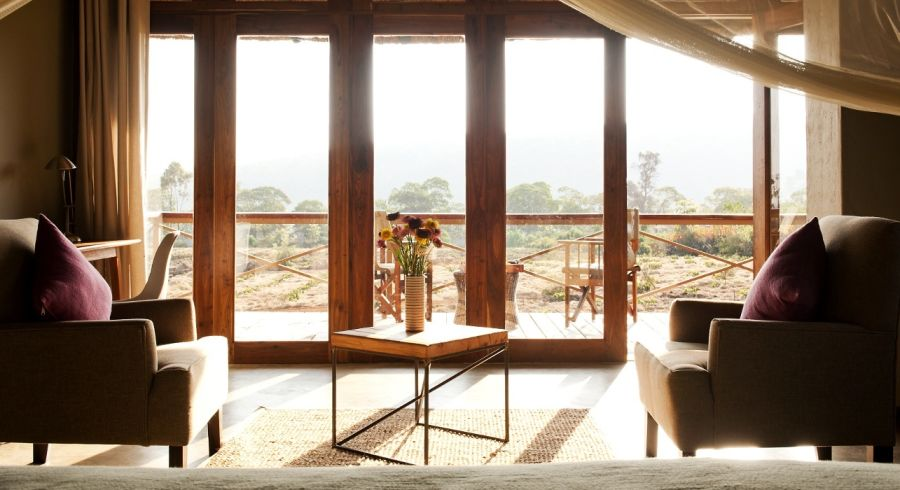 Room with a view at Kitela Lodge, in Lake Manyara & Ngorongoro, Tanzania