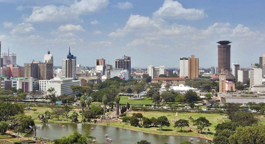 Skyline von Nairobi in Kenia - Is Kenya Safe?